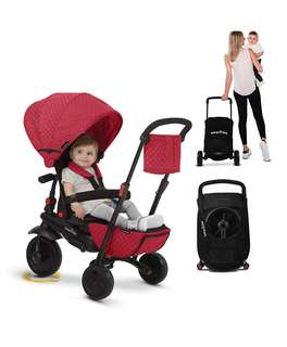 Smartrike smart fold 700 deluxe 8 in 1 baby tricycle. Reclineable