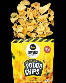 Irvin salted chips