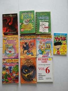Children's kids 10 book bundle