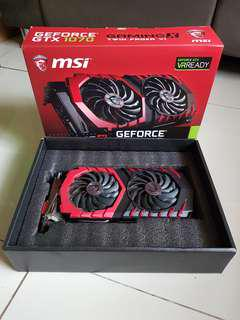 MSI GTX 1070 Gaming X 8 GB (RGB GPU)