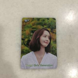 SNSD Girls Generations - Yoona Photocard