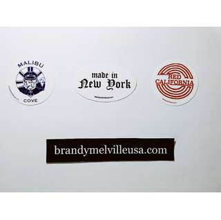 Authentic Brandy Melville Stickers