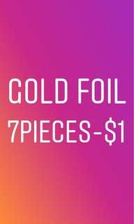gold foils