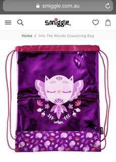 Smiggle Drawstring Bag