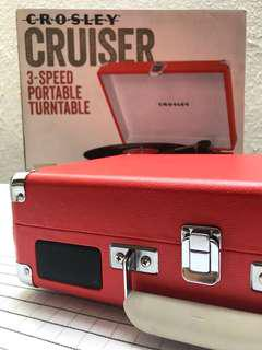 Crossley Cruiser Portable Turntable