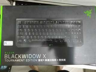可議 Razer Blackwidow X tournament edition