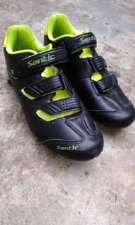 Cycling shoes cleat Santic