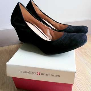 Naturalizer Black wedge