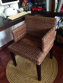 Designer Rattan Chair from Xtra (Dinning or Study)