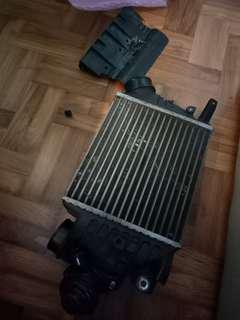 Stock wrx INTERCOOLER