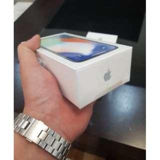 Brand new sealed Apple iPhone X 256GB