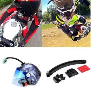 Go pro Motorcycle helmet extensions