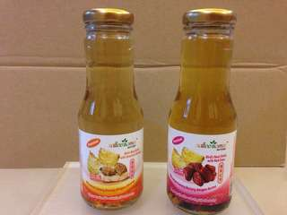 Halal-Sarawak Bird's Nest with American Ginseng / with Red Dates - Beauty drink