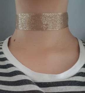 Rhianna Gold Choker