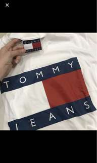 Tommy Hilfiger white tee