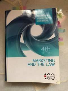 Marketing And The Law Textbook (4th ed.)