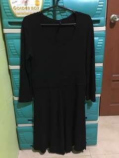 Giordano Black Dress