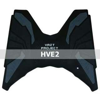 Karpet motor vario 125 new and vario 150 rubber step floor bordes alas pijakan, black HVE 2