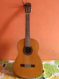 Gitar classic klasik yamaha c-315 bonus capo(penjepit)