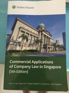 AC2302 Commercial Applications of Company Law in Singapore