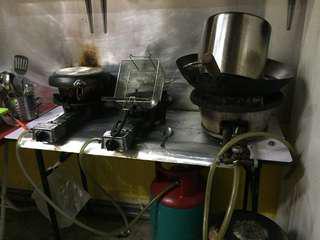 Dapur dan tong gas