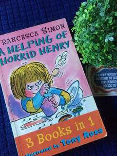 A HELPING OF HORRID HENRY -3 Books in 1