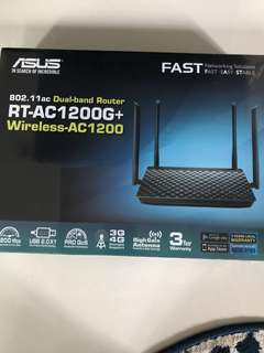ASUS Dual Band Router RT-AC1200G+ Wireless-AC1200 Gigabit Router