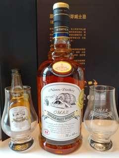 台灣omar威士忌 波本花香 hkdp