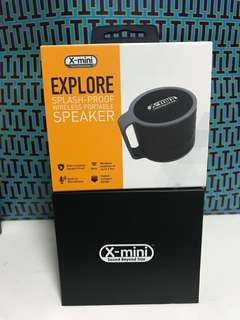 Brand New x-mini explore bluetooth speaker