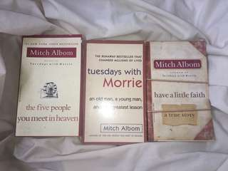 Mitch Albom book bundle