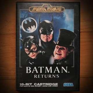 Batman Returns - Sega Mega Drive Genesis 16-Bit Action Platform Game