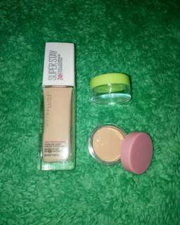 Foundation maybelline super stay 24H