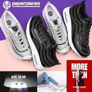 [Paperplanes]★Made in Korea★ Paperplanes shoes fashion sneakers casual athletic sports air cushion running