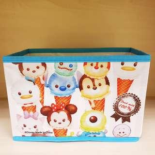 Disney Tsum Tsum Ice Cream Cone Small Size Open Organizer Storage Box