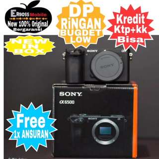 Sony Alpha A6500 Body Only New Resmi Cash/kredit Ditoko Dp Call/wa;081905288895