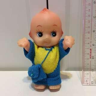 昭和Kewpie 沙律Bb 丘比 15cm 軟膠 公仔 昭和娃娃