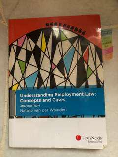 Understanding Employment Law: Concepts & Cases Textbook (3rd ed.)
