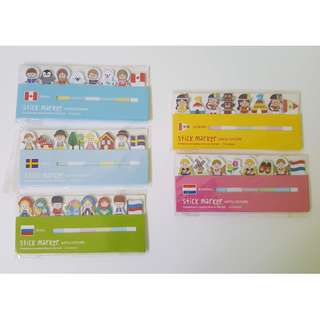 Around the world Post-It (Buy 2 or more for bulk discount)