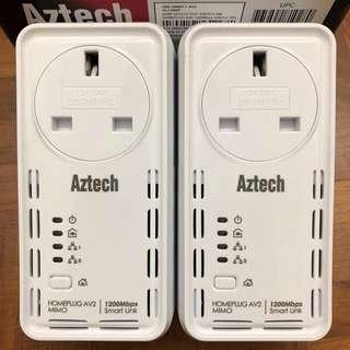 Aztech Homeplug AV 1200Mbps HL129EP