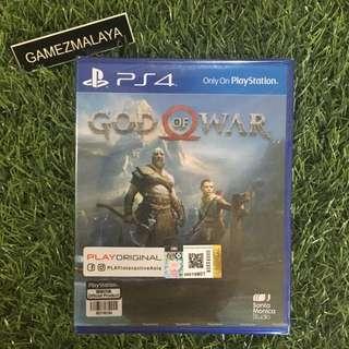 [NEW] PS4 GOD OF WAR 4 R3 - (GAMEZMALAYA)