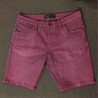Maroon Cotton On Mens Shorts
