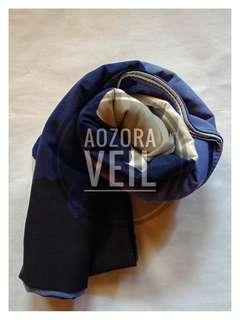 Purplish scarf. Free ongkir