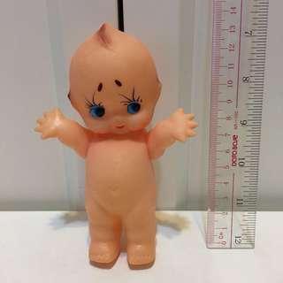 昭和Kewpie 沙律Bb 丘比 13cm 軟膠 公仔 昭和娃娃