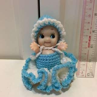 昭和Kewpie 沙律Bb 丘比 10cm 軟膠 公仔 昭和娃娃