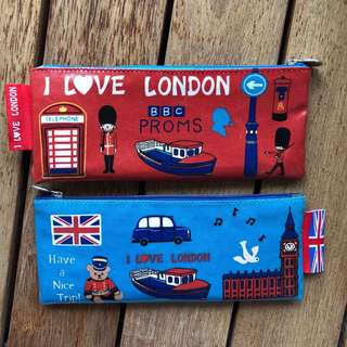 """I ❤️ LONDON "" pencil case (2 for $10)"