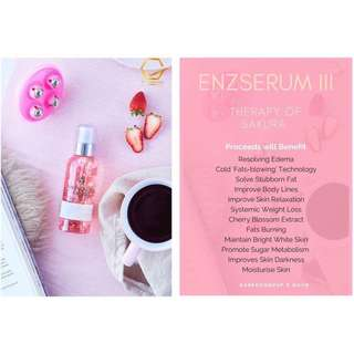 ENZ Serum III_Fat Loss Burning Cooling Gel