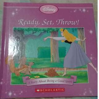 Ready Set Throw Disney Princess Book