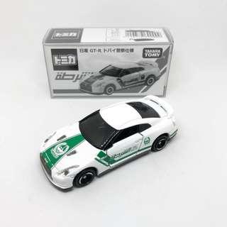 Takara Tomy Tomica Dubai Police Nissan GT-R