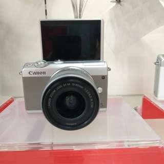Kamera canon m100 New Cicilan Tanpa Kartu Kredit