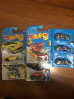 Hot Wheels (new) lot of 7
